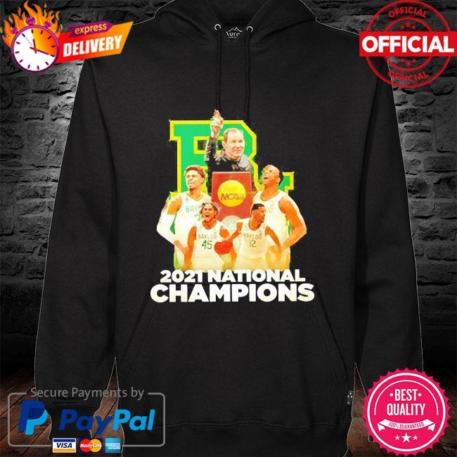 Baylor bears 2021 national champions hoodie black
