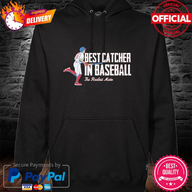 Best catcher in baseball the real estate must hoodie black