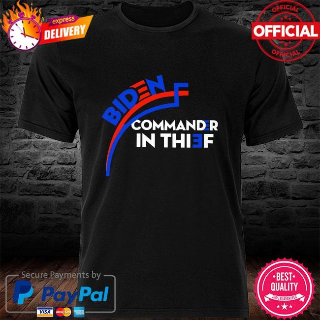 Biden commander in thief shirt