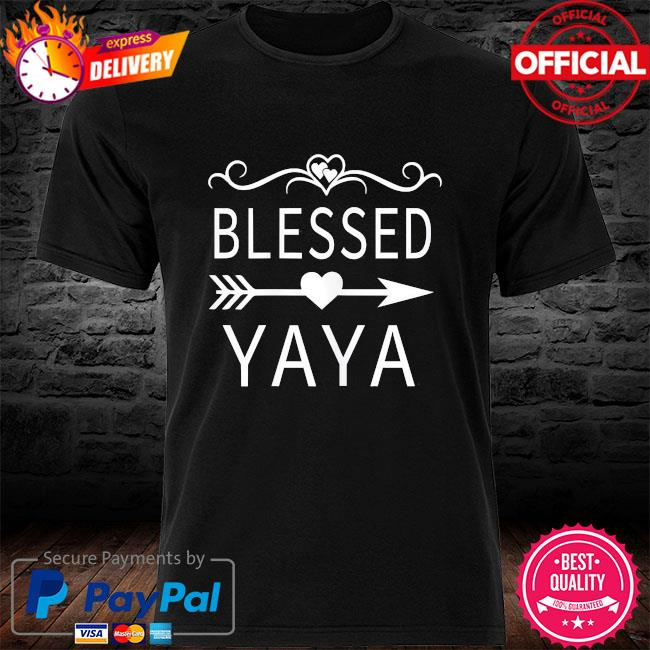 Blessed yaya mother's day shirt