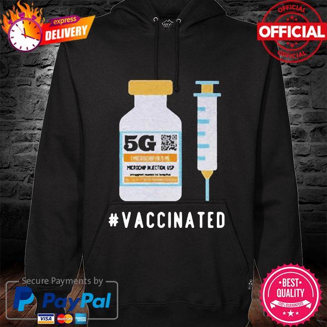 Buy G vaccinated s hoodie black