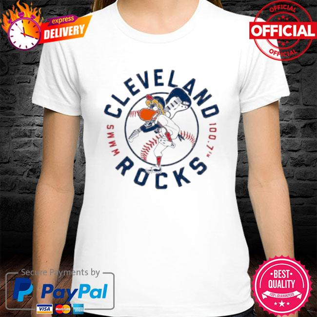 Cleveland rocks baseball shirt
