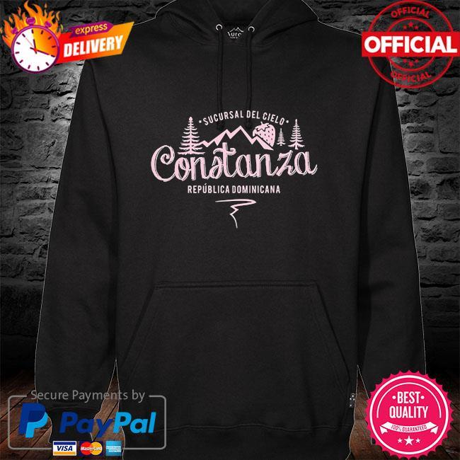 Constanza la vega dominican republic souvenir hoodie black