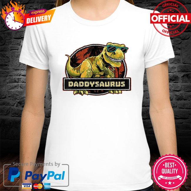 Dinosaur father shirt