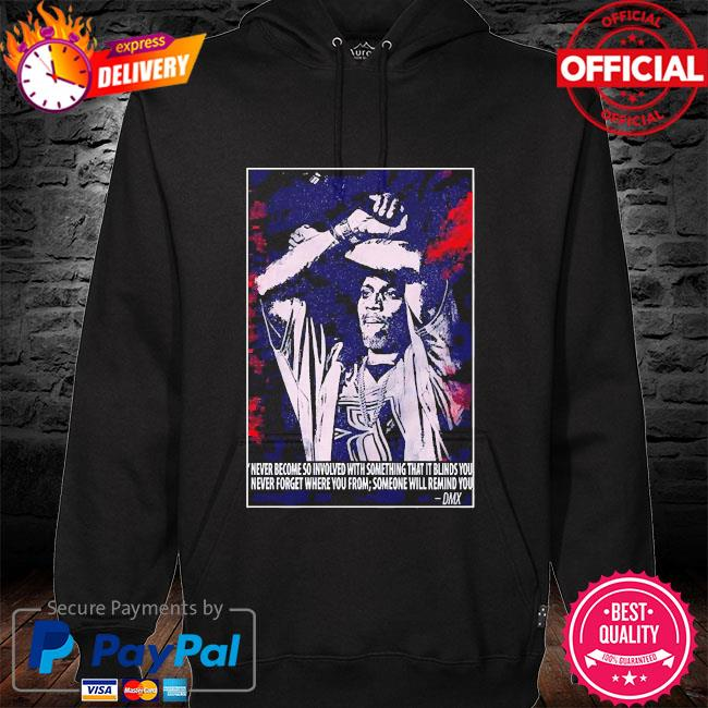Dmx dark man rapper music hoodie black