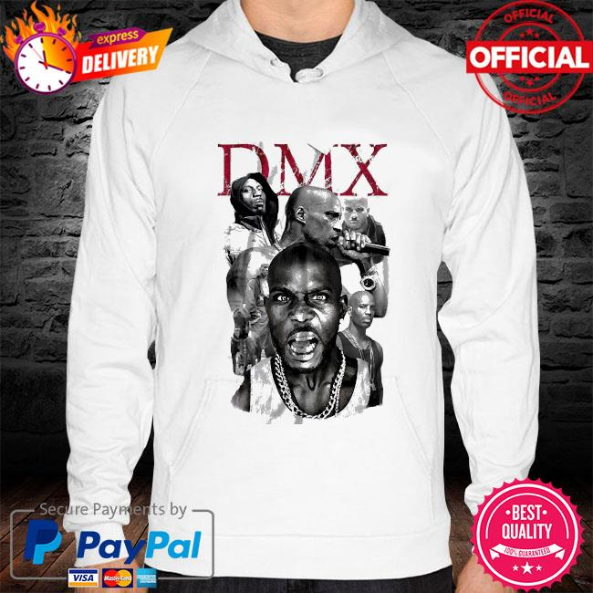 Dmx get at me dog hoodie white