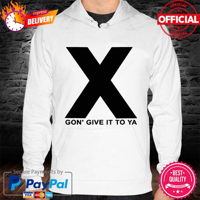 Dmx x gon' give it to ya hoodie white