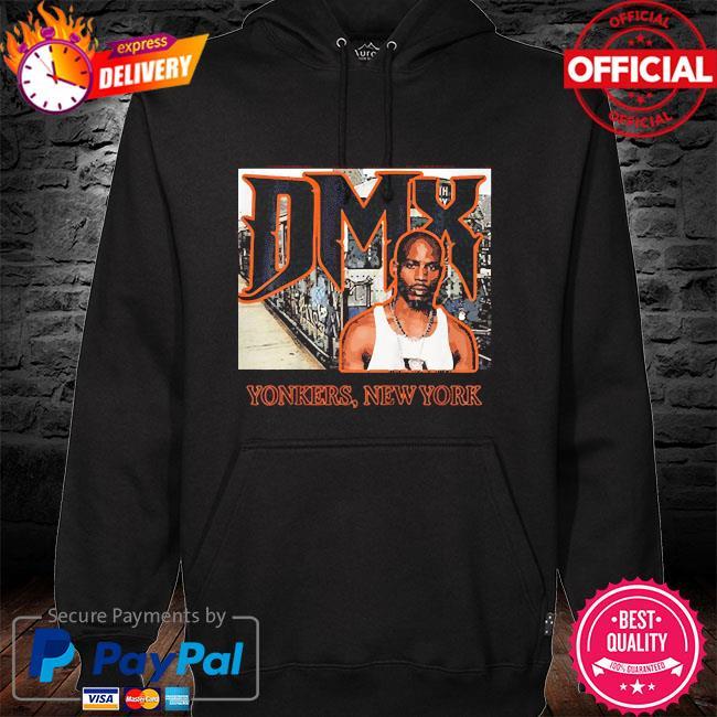 Dmx yonkers new york hoodie black