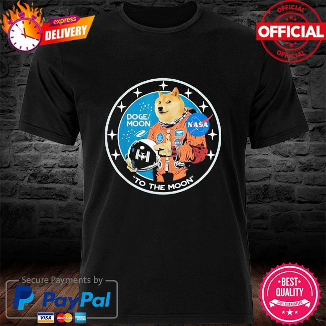 Dogecoin astronaut to the moon blockchain hodl crypto 2021 shirt