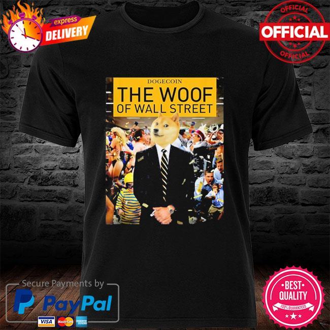 Dogecoin the woof shirt