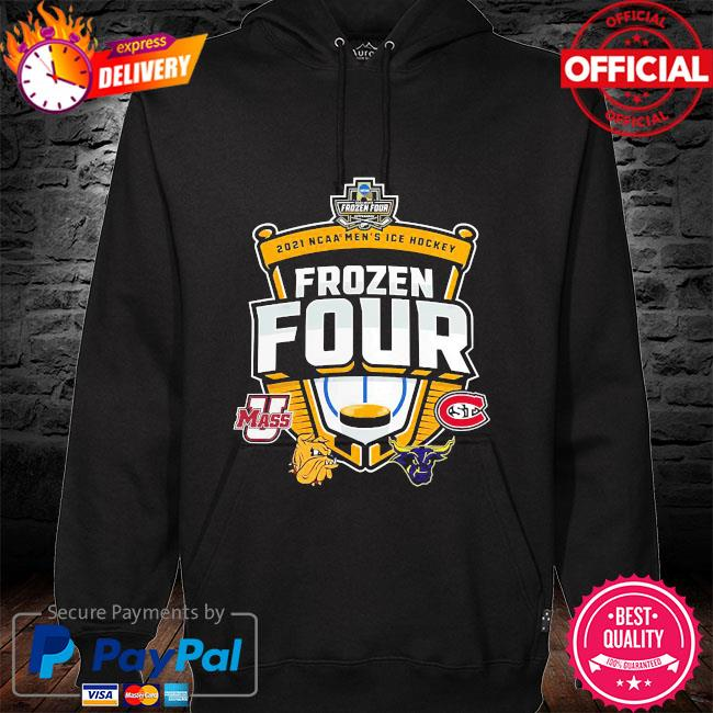 Frozen four ncaa men's ice hockey hoodie black