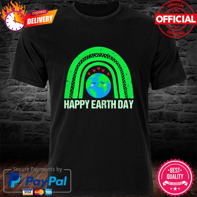 Happy earth day 2021 earth lover shirt