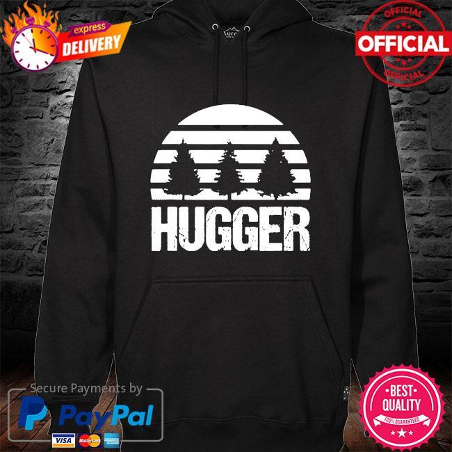 Hugger tree global warming climate change earth day s hoodie black