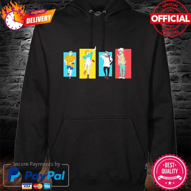 Jujutsu kaisen friends s hoodie black