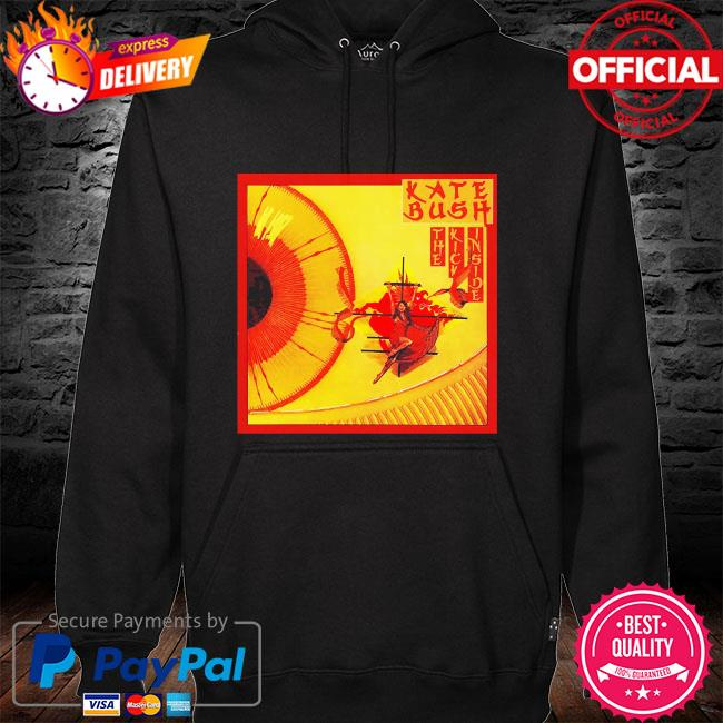 Kate bush the kick inside rock band black hoodie black