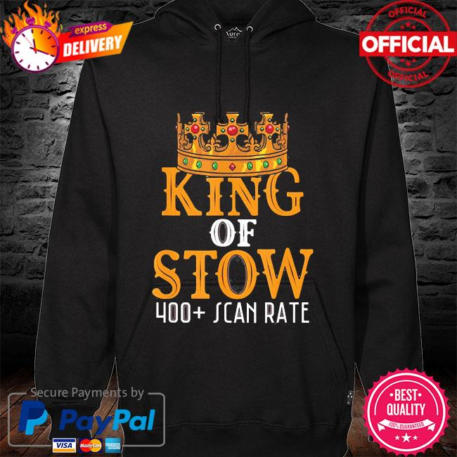 King of stow 400 stow rate 2021 s hoodie black