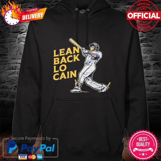 Lean back lo cain hoodie black