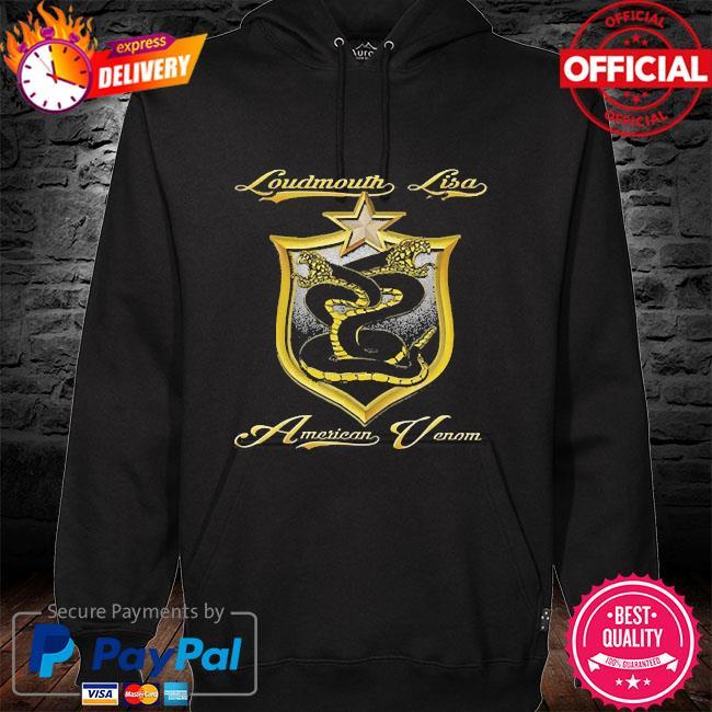 Loudmouth lisa American venom 2021 hoodie black