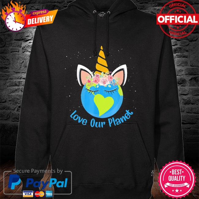 Love our planet earth day 2021 s hoodie black
