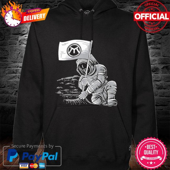 Metrix merchandise space moon s hoodie black