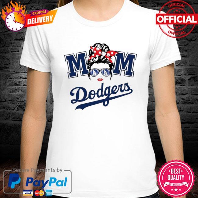 Mom skull los angeles dodgers baseball 2021 shirt