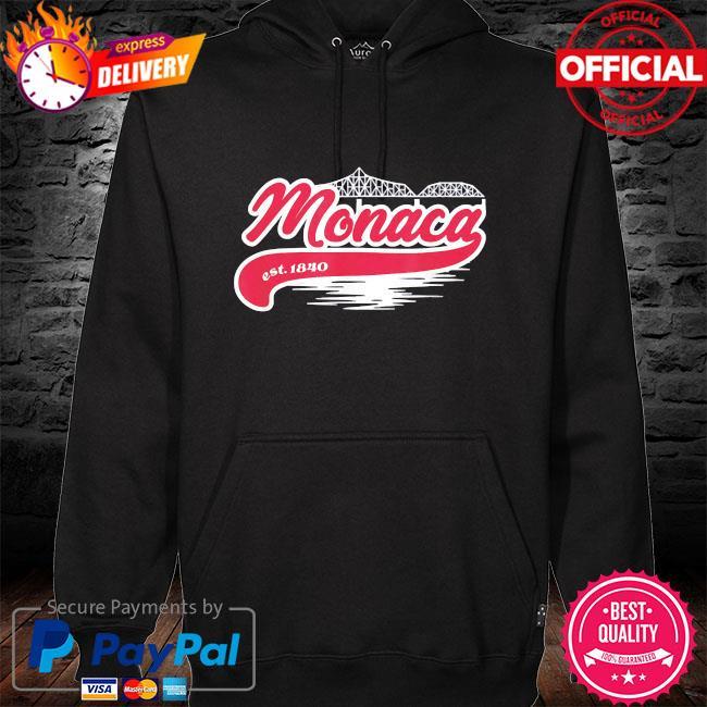 Monaca pa hometown s hoodie black