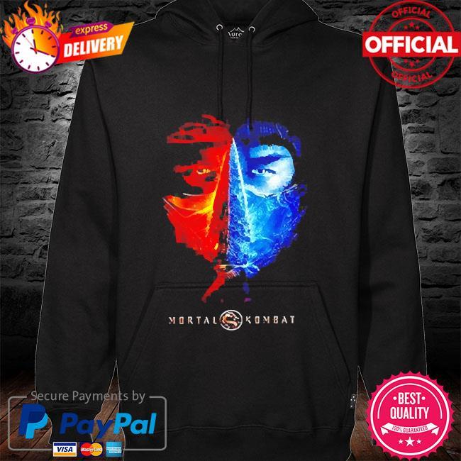 Mortal kombat hoodie black