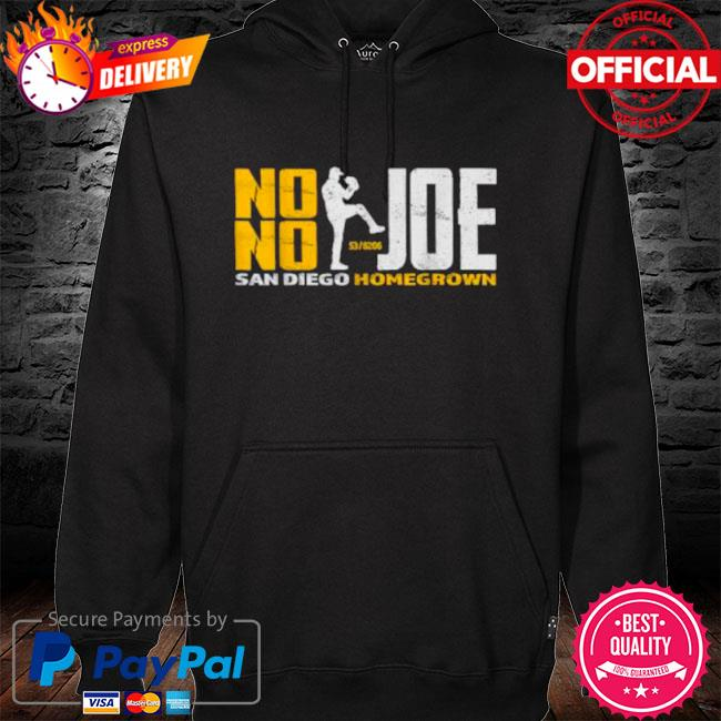 No no joe san diego joe homegrown baseball s hoodie black