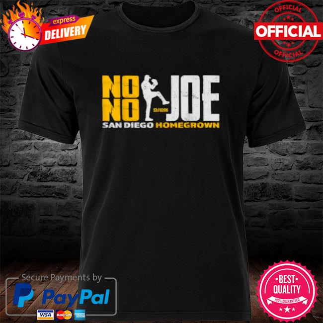 No no joe san diego joe homegrown baseball shirt