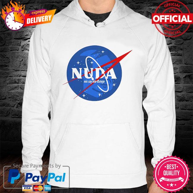 Nuda nic sie nie dzieje s hoodie white