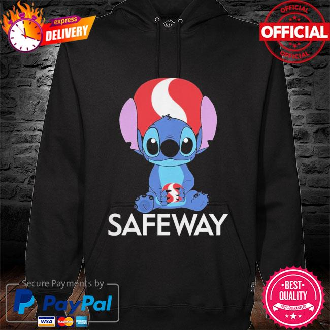 Official Baby stitch hug Safeway 2021 hoodie black