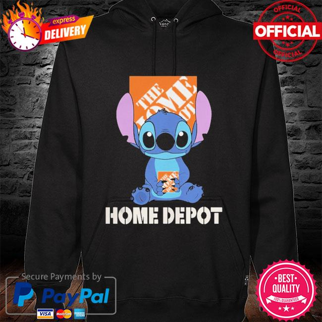Official Baby stitch hug The Home Depot 2021 hoodie black