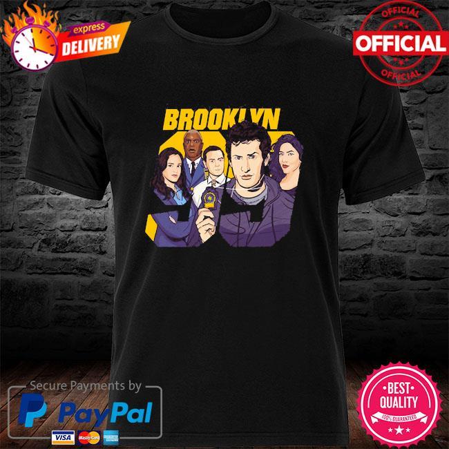 Official brooklyn nine shirt