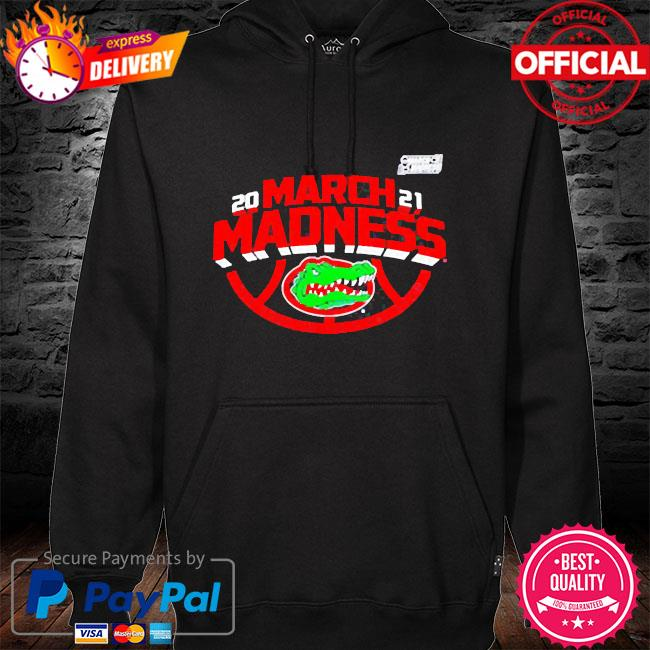 Official Florida gators 2021 march madness the road to the final four hoodie black