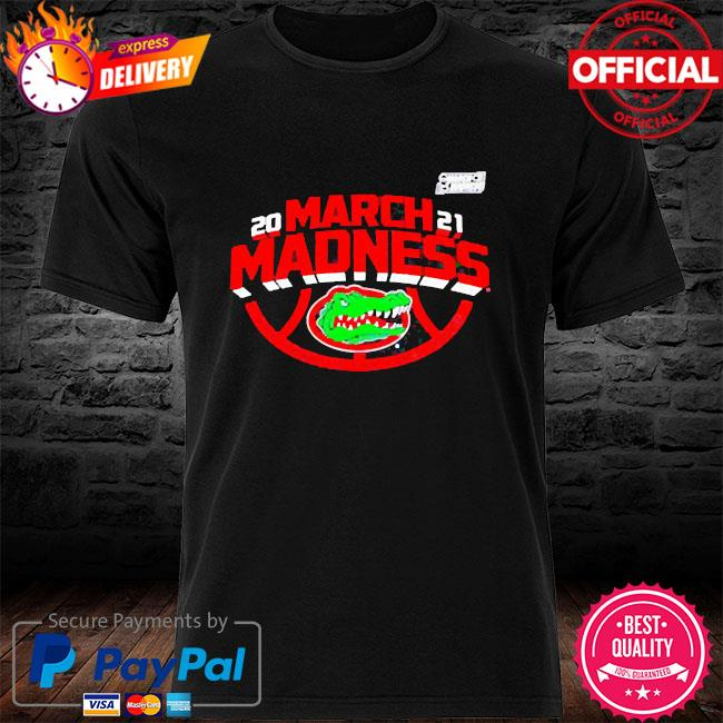 Official Florida gators 2021 march madness the road to the final four shirt