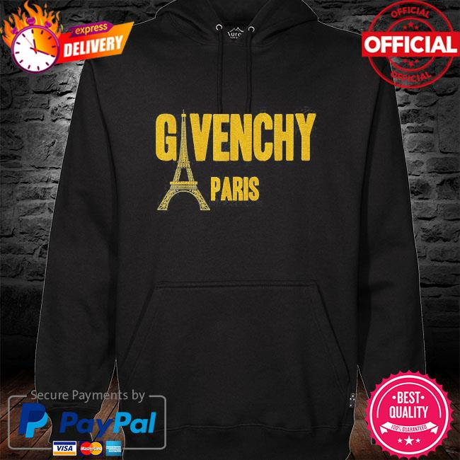 Official givenchy paris s hoodie black