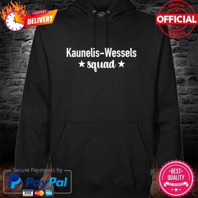 Official kaunelis-wessels squad s hoodie black