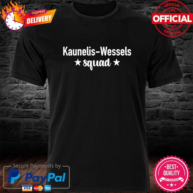 Official kaunelis-wessels squad shirt