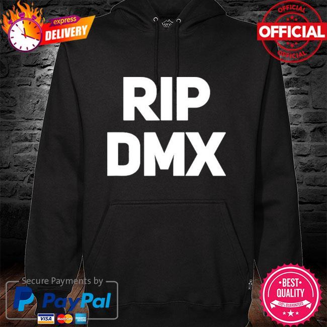 Official Rip dmx hoodie black