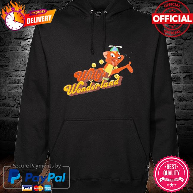 Official Willy's wonderland baby hoodie black