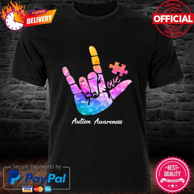One Autism Awareness shirt