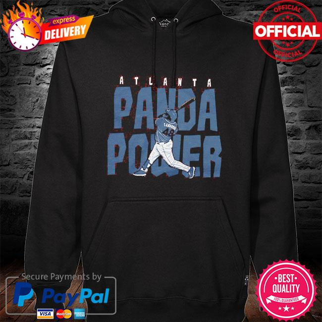 Pablo sandoval 48 panda power atlanta hoodie black