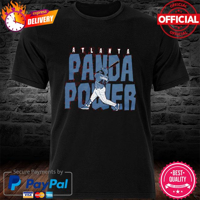 Pablo sandoval 48 panda power atlanta shirt