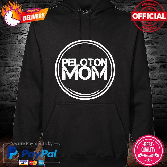 Peloton mom s hoodie black