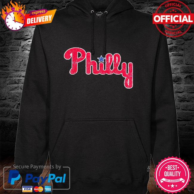 Philadelphia baseball philly hoodie black