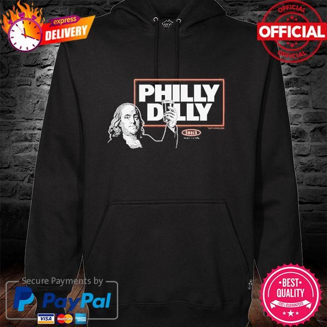 Philly dilly hockey hoodie black