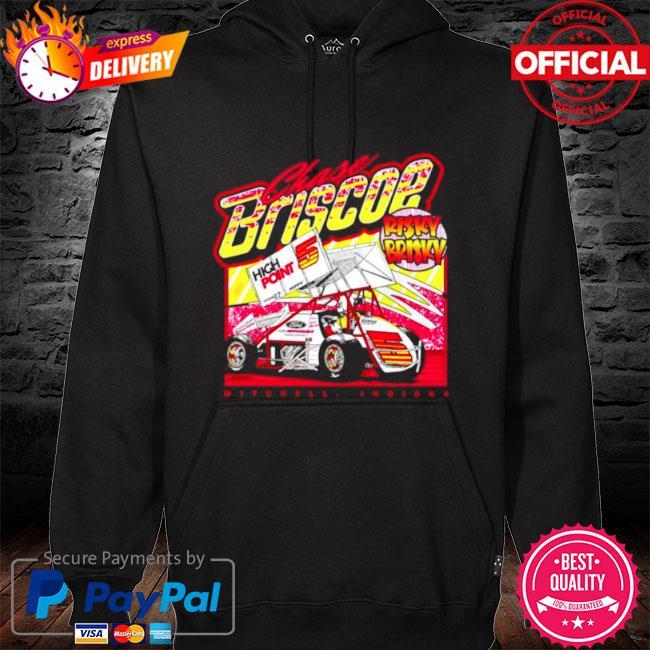 Risky brisky throwback chase briscoe s hoodie black