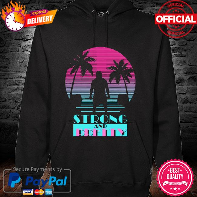 Robert oberst strong and pretty hoodie black