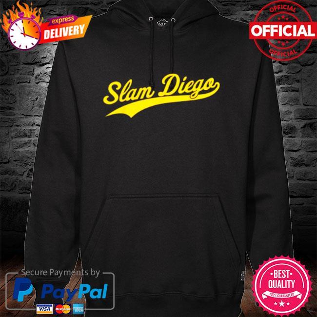 San diego sd slam diego script s hoodie black