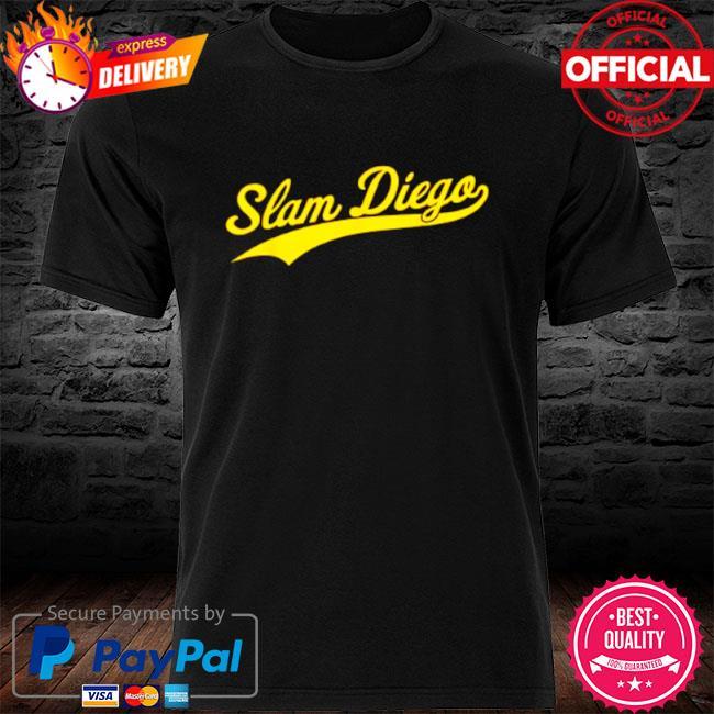 San diego sd slam diego script shirt